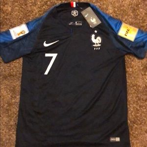 2018 World Cup jersey - France